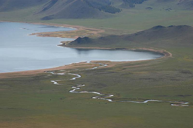 Lago Terkiin Tsagan