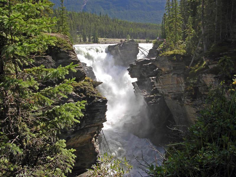 Cascada Athabasca