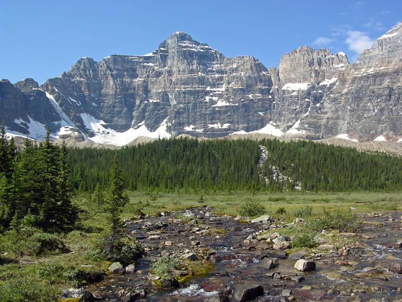 Paradise Valley en Banff NP