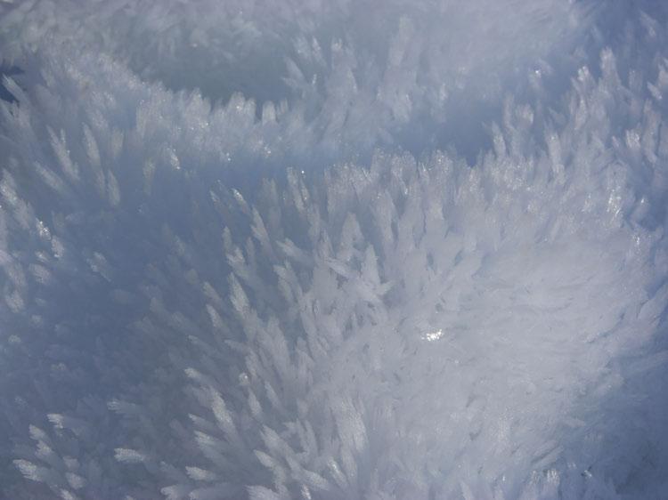 cristales de nieve