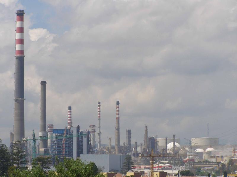 Foto de refineria