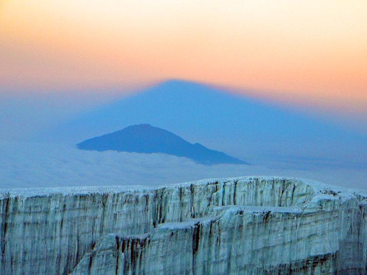 Glaciar del Kilimajaru
