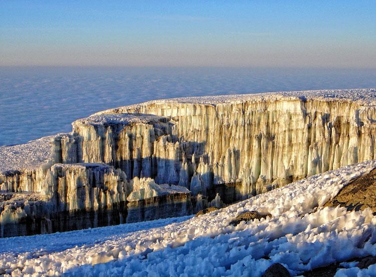 Glaciar del Kilimanjaro
