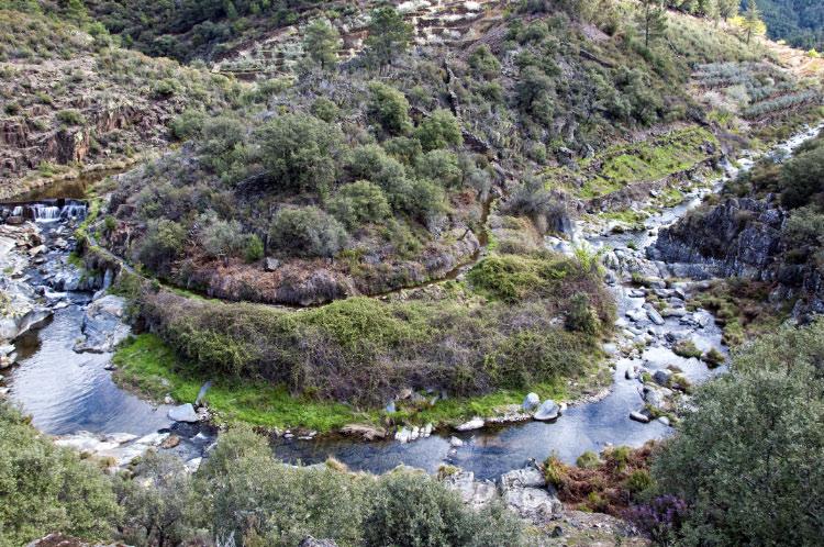 Meandros del río Eperabán