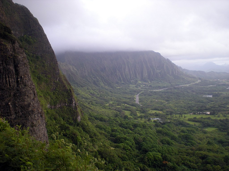Nuuanu pali state park oahu hawaii EEUU