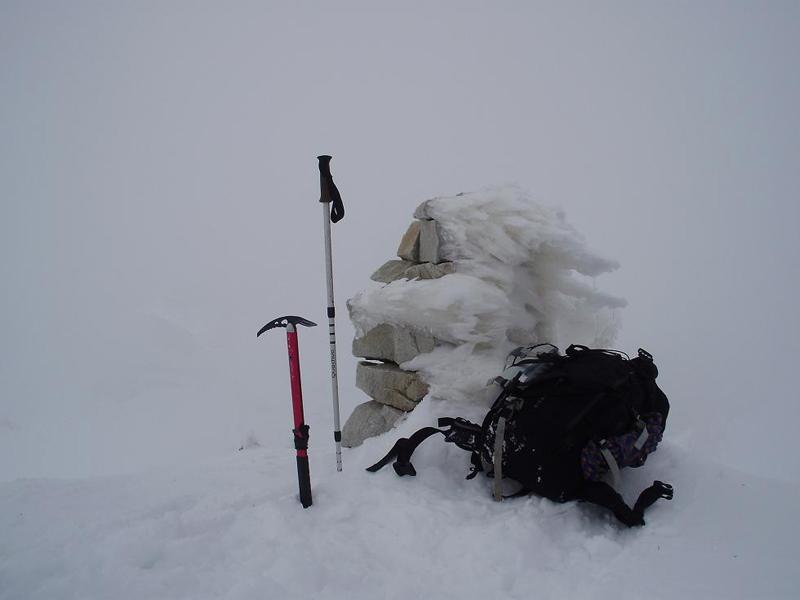 La cima del pico Perdigueret