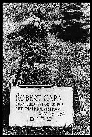 La umba de Robert Capa