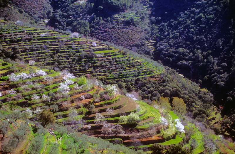 Tierras hurdanas, Cáceres, España