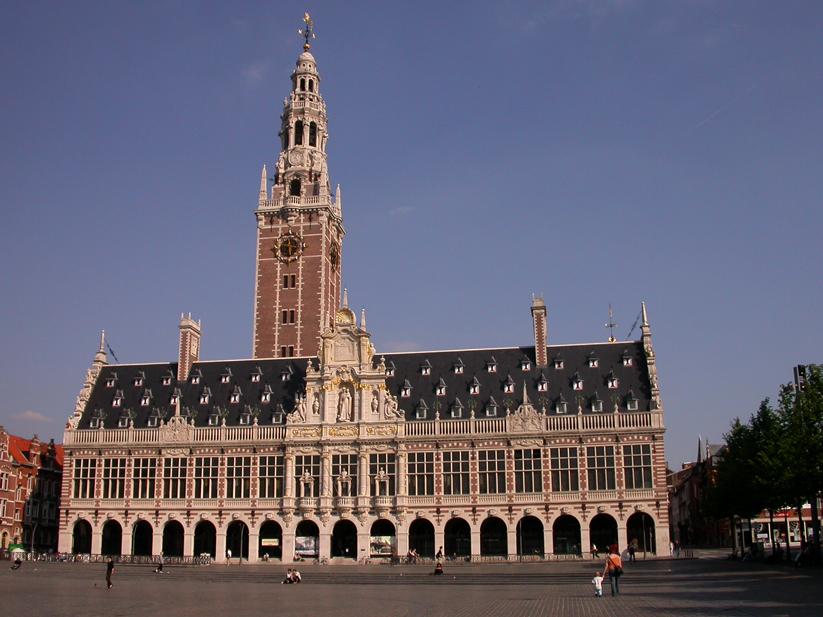 Biblioteca. Lovaina. Bélgica