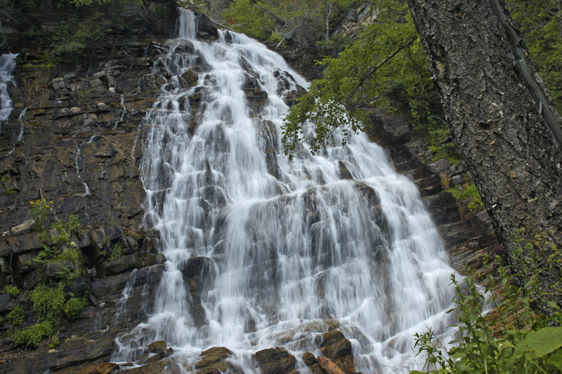 Waterton Bertha Falls
