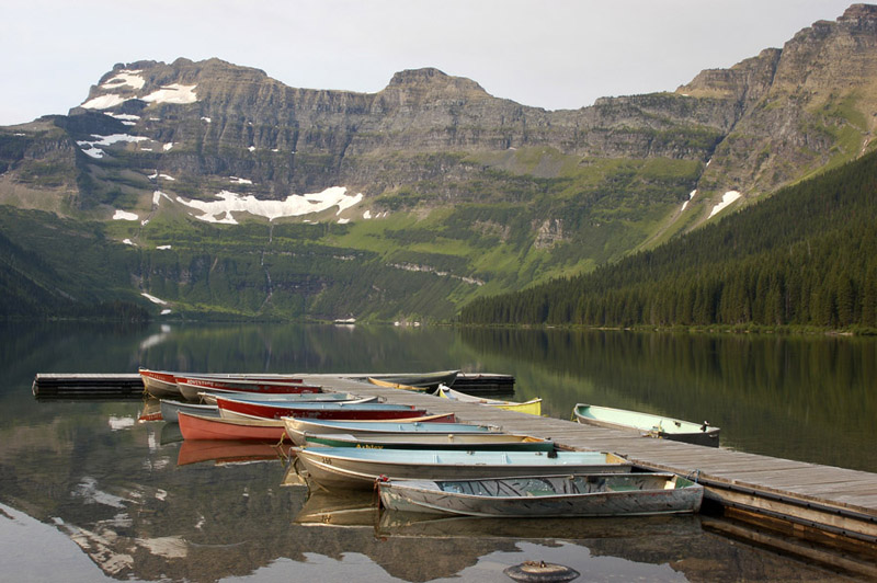 Waterton Cameron Lake