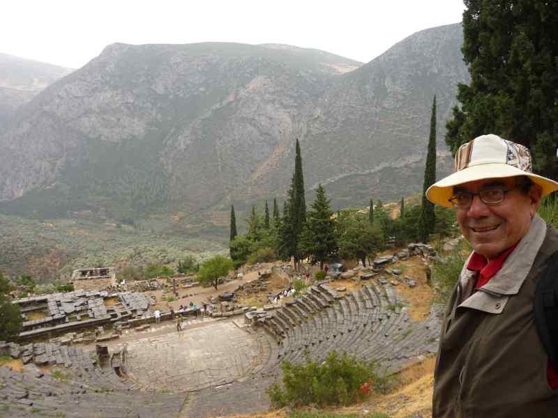 Delfos, teatro