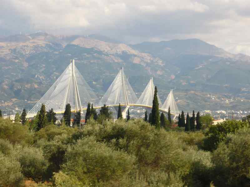 Golfo de Corinto. Puente