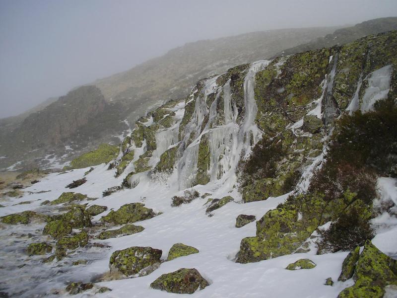 Cascadas de hielo