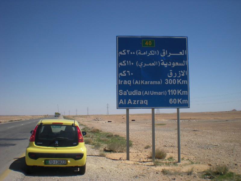 Carretera a Irak