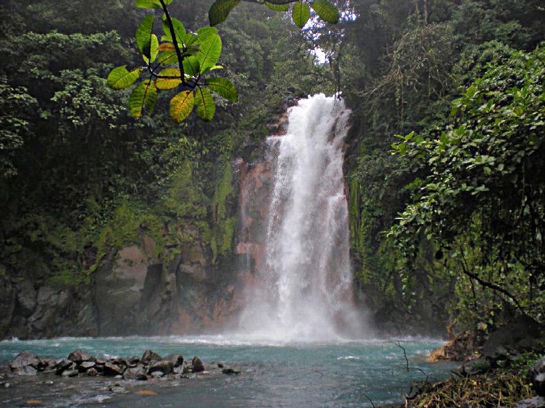 cascada del Río Celeste