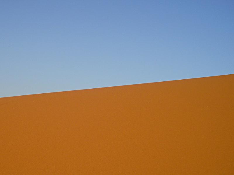 El cielo y la arena