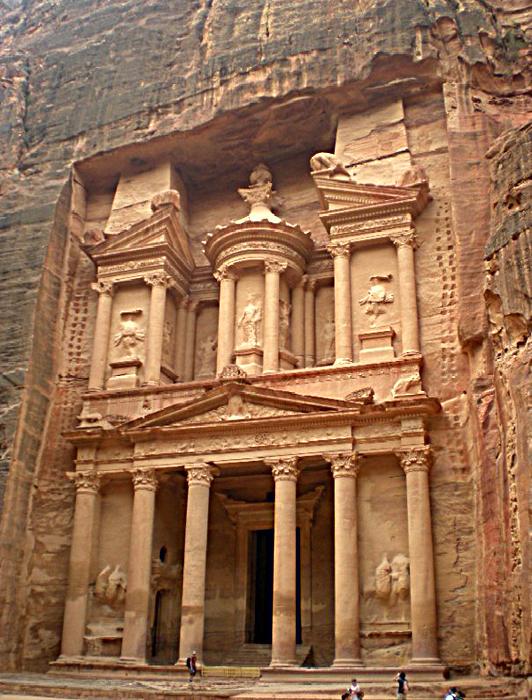 Al Kaznah, Petra