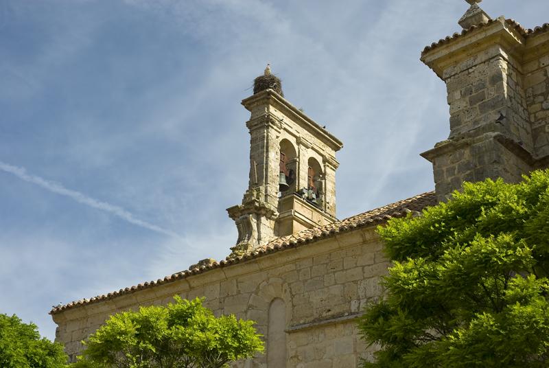 Espadaña iglesia Azoque