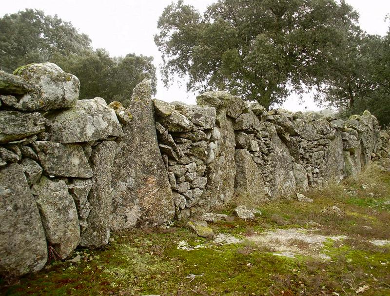 Fin de a o en las arribes y picos de europa el rinc n del trotamundos - Vallas de piedra ...