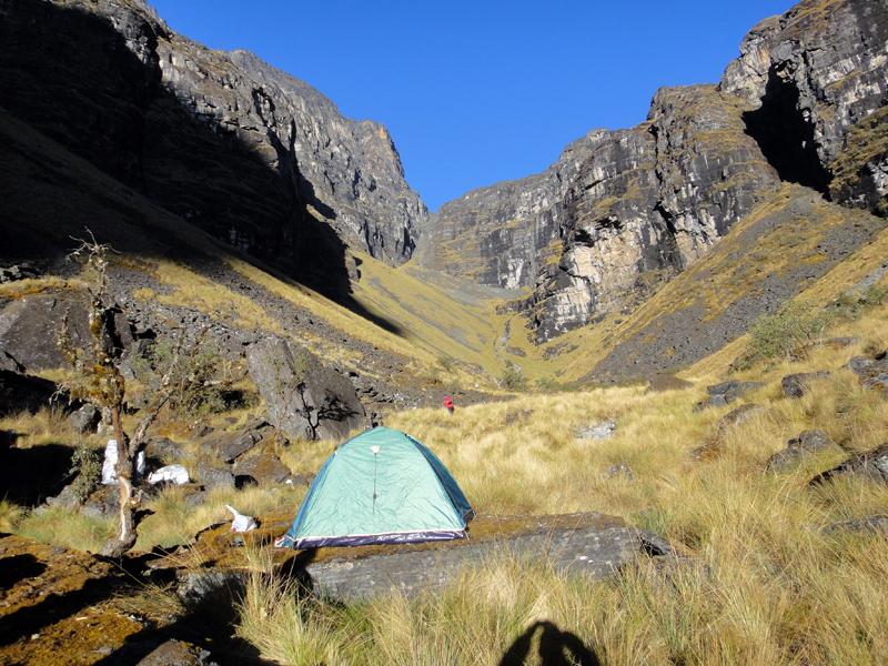 Foto 20 - Campamento en el Rio Chamacani