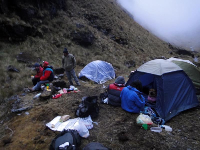 Foto 21 - Campamento en el Rio Chamacani