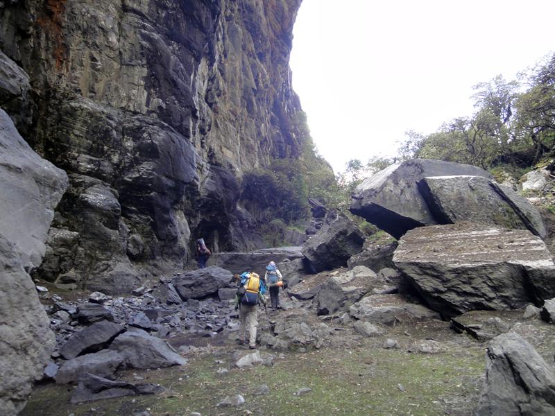 Foto 27 - Rocas Caidas en la Subida hasta el mirador