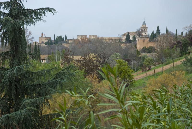 Jardines de los Mártires. Granada