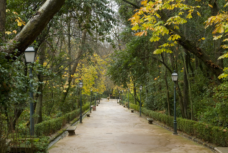 Jardinesde la Alhambra, Granada