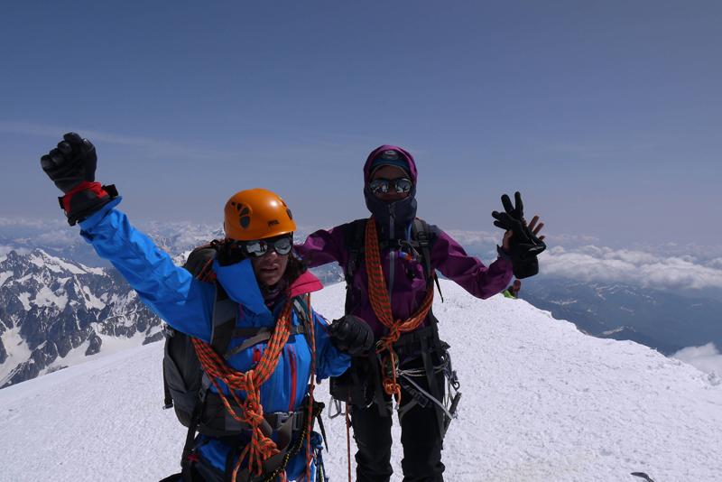 Cima del Mont Blac
