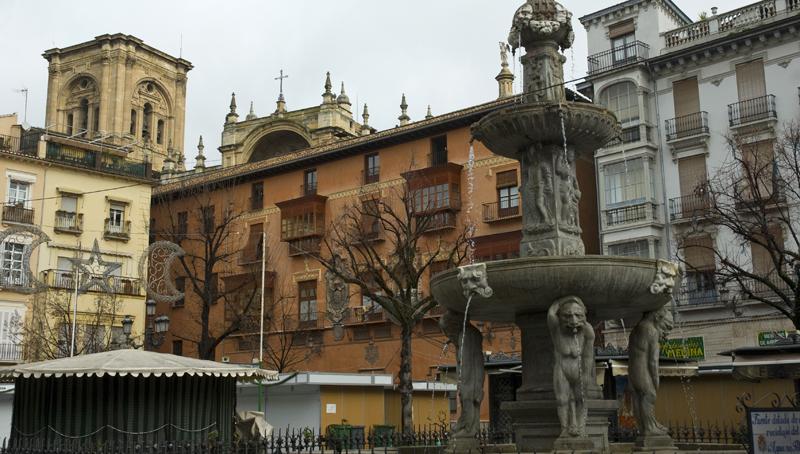 Plaza de Bibarrambla. Granada