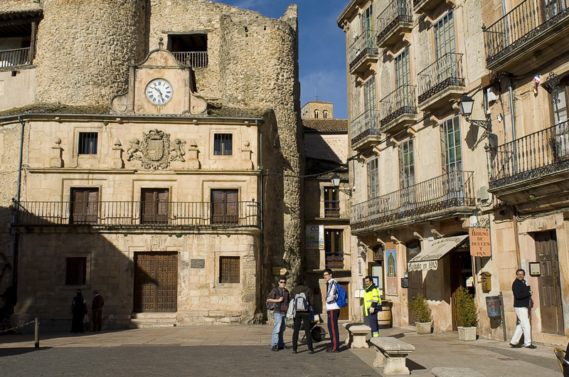 Sepúlveda. Hoces del Duratón. Segovia