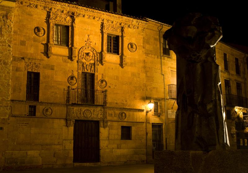 Casa de las muertas. Salamanca