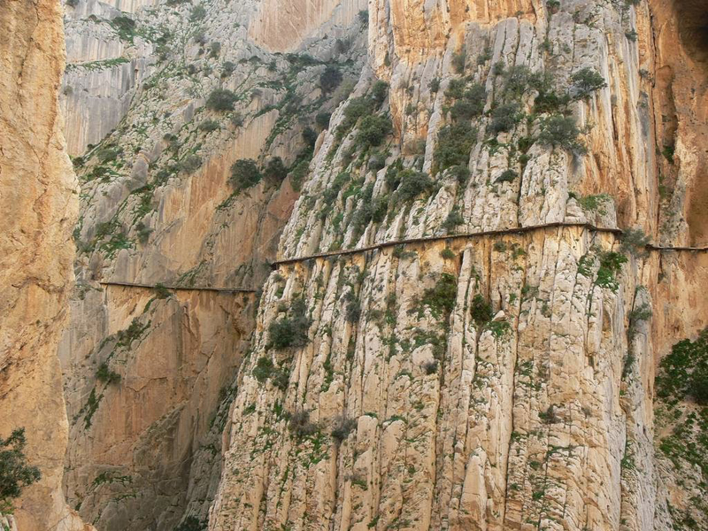 Caminito del Rey Málaga, España