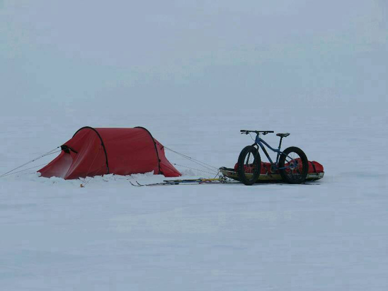 Juan de camino al Polo Sur