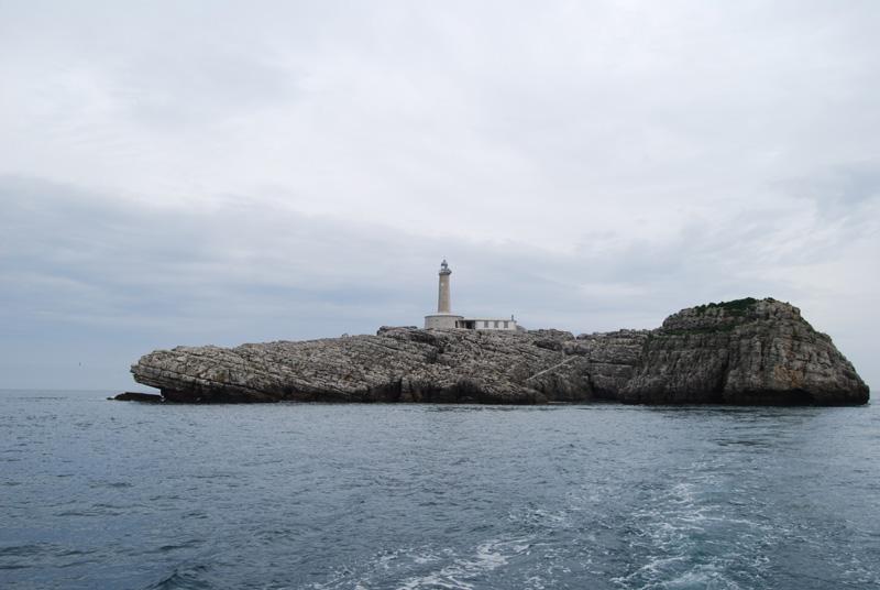 Isla y faro de Mouro