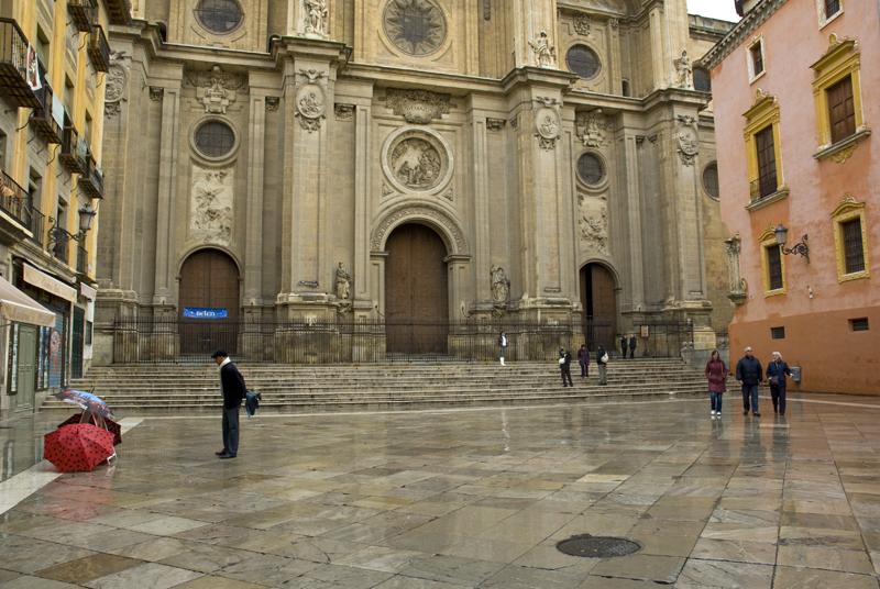 Plaza de Las Pasiegas. Catedral de Granada