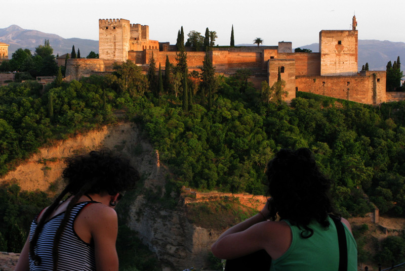 Mirador de San Nicolas - La Alhambra - Granada