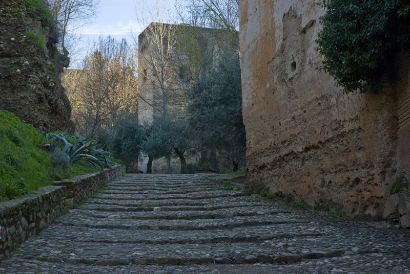 Cuesta del Rey Chino - La Alhambra - Granada