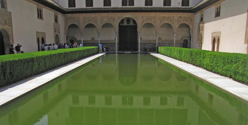 Patio de los Arrayanes, La Alhambra, Granda