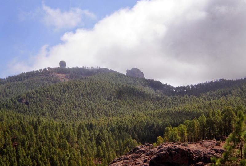 PICO DE LAS NIEVES  Caldera de Tejera - Gran Canaria