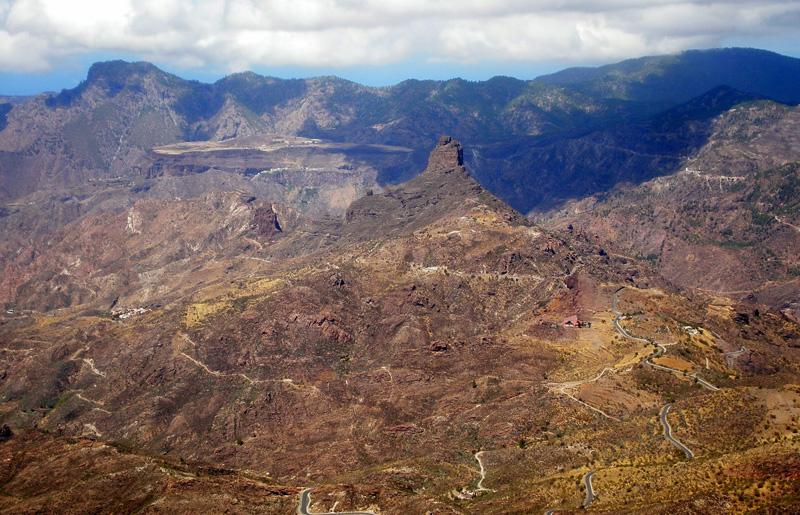 ROQUE BENTAIGA - Caldera de Tejera - Gran Canaria