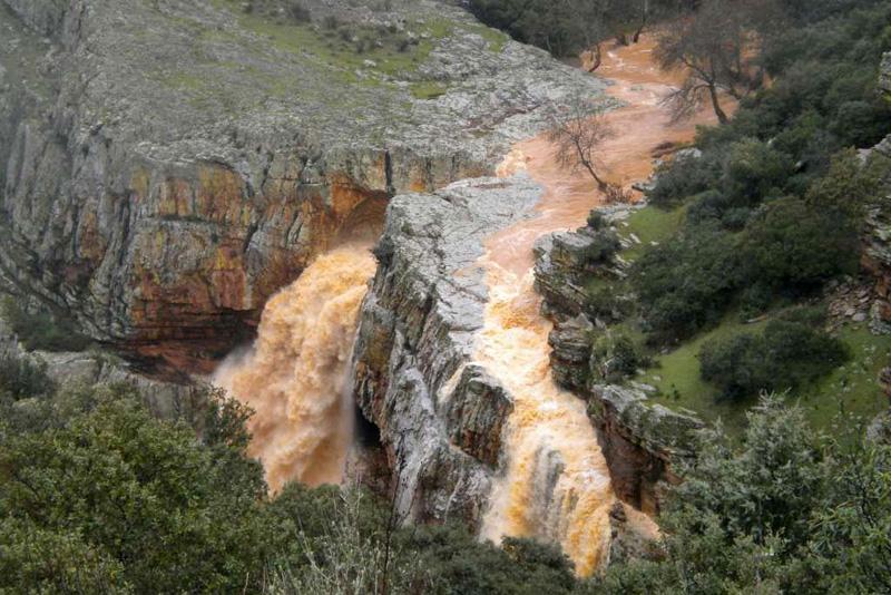 Cascada de la Cimbarra, Parque Natural de Despeñaperros