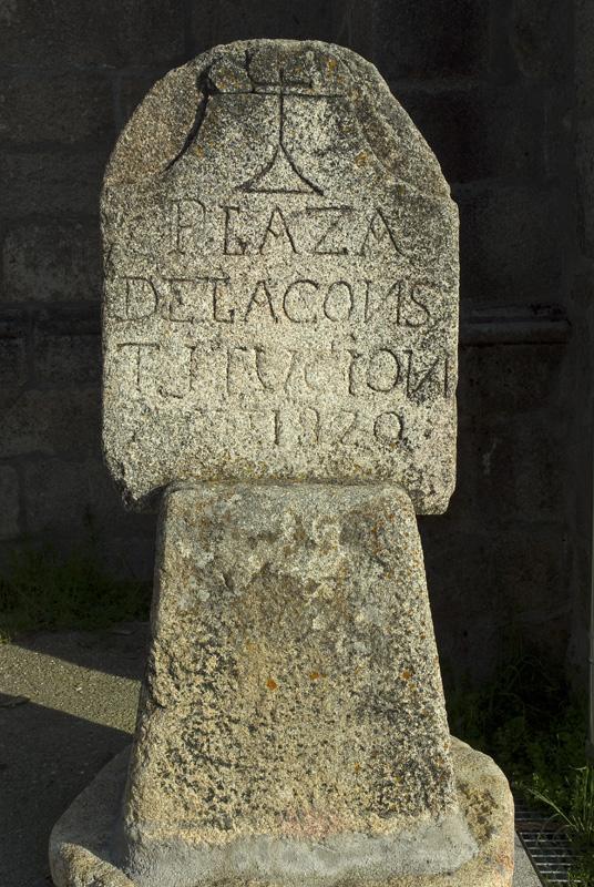 Estela de Navalperal de Tormes, Gredos