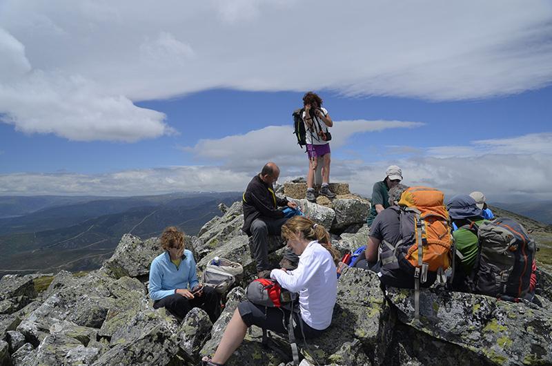 Pico Vizcodillo, Sierra de Cabrera, León Zamora