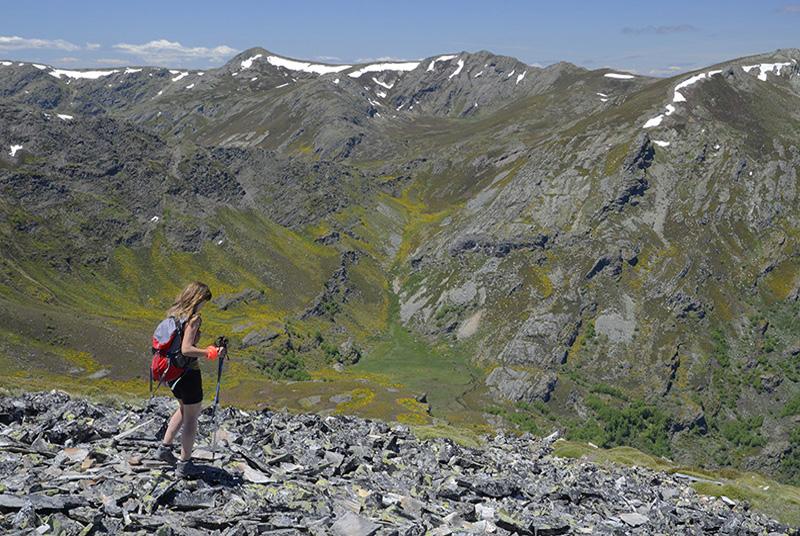 Orogenia glaciar, Sierra de Cabrera