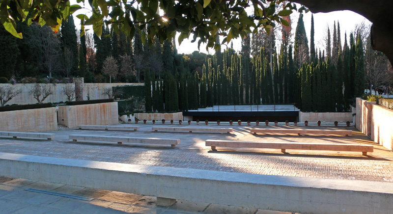 Auditorio del Generalife La Alhambra Granada