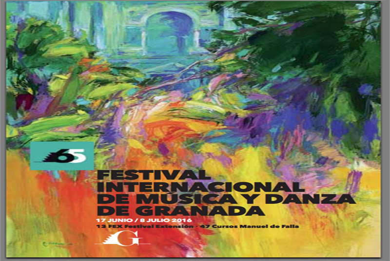 Cartel del Festival Granada 2016  Granada