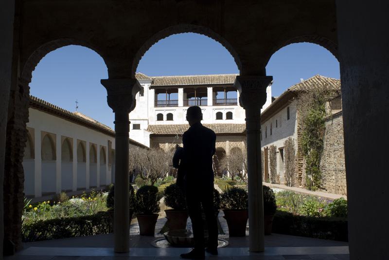 Jardines del Generalife La Alhambra Granada