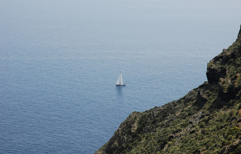 Navegando por el litoral del Cabo de Gata